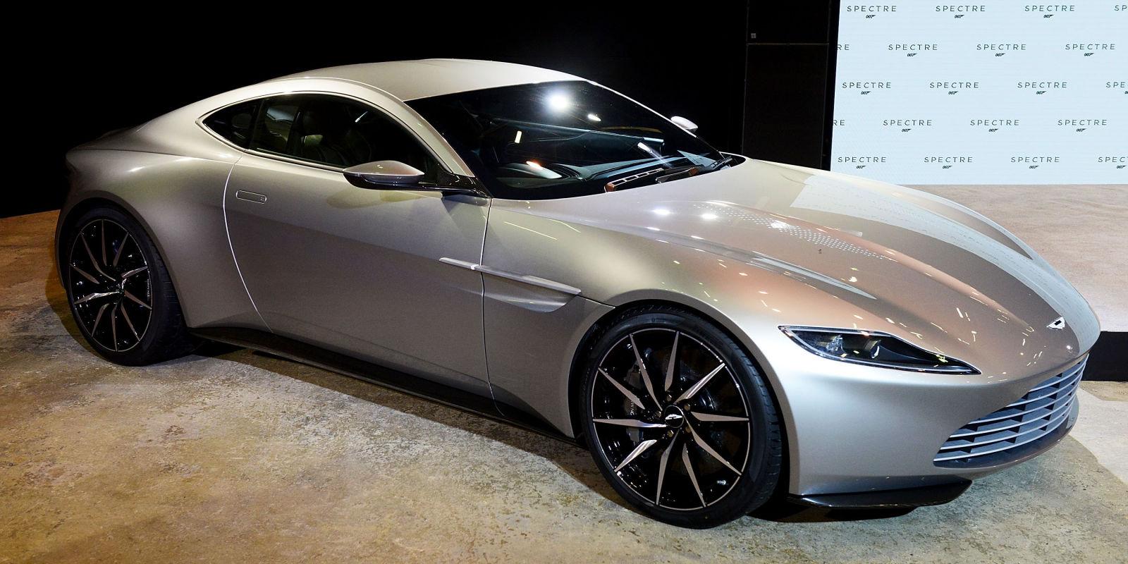 Creative Car James Bond Spectre 2015