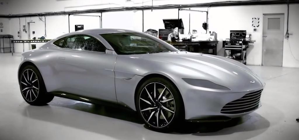 Car James Bond Spectre (2015)