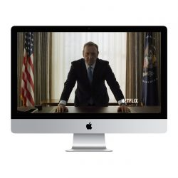 Apple iMac in House of Cards