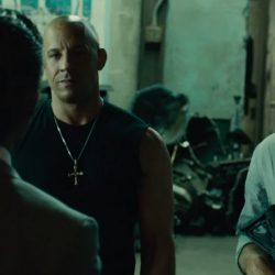 Necklace Vin Diesel (Dominic Toretto) in Furious 7 (2015)