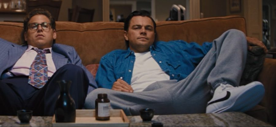 Nike shoes Leonardo DiCaprio in The Wolf of Wall Street (2013)