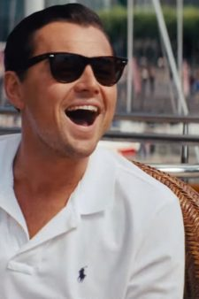 Sunglasses Leonardo DiCaprio in The Wolf of Wall Street (2013)