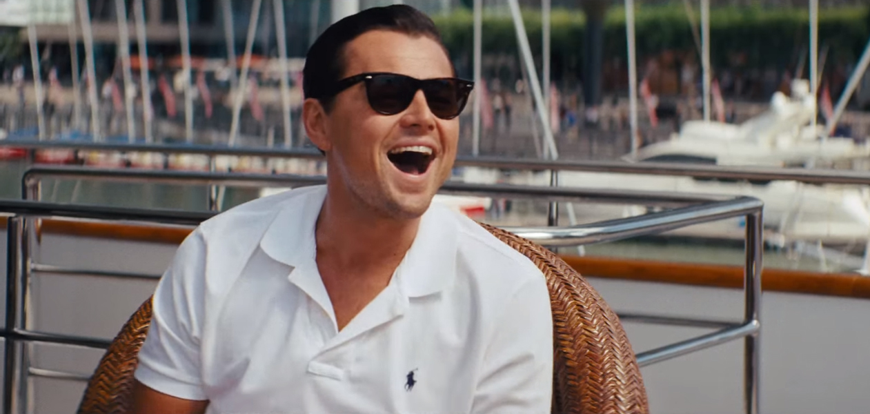 Sunglasses Leonardo DiCaprio in The Wolf of Wall Street Leonardo Dicaprio Wolf Of Wall Street Hair