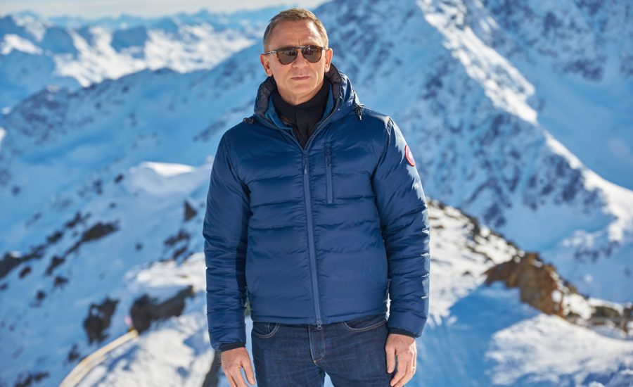 Blue jacket Daniel Craig Spectre (2015)