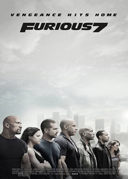Furious 7 products