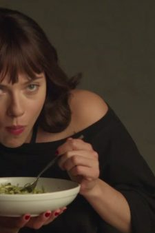 Pasta for Scarlett Johansson in the Movie Chef (2014)