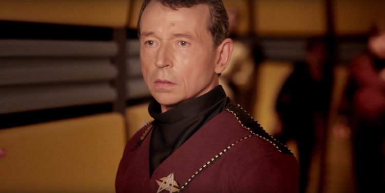 Metal Communicator Badge from Star Trek - Renegades (2015)