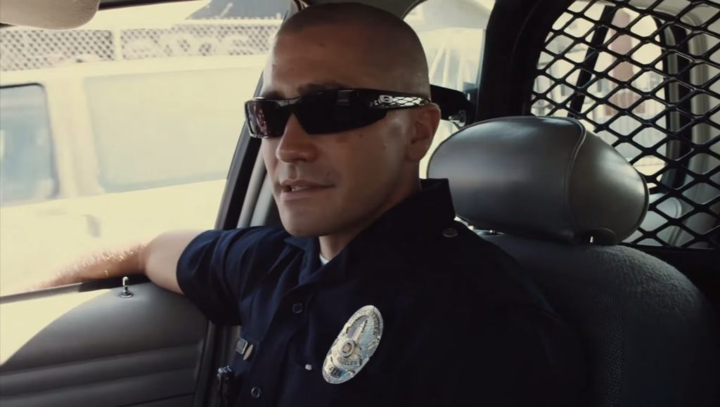 54012bbb8771 Sunglasses Jake Gyllenhaal in End of Watch (2012)