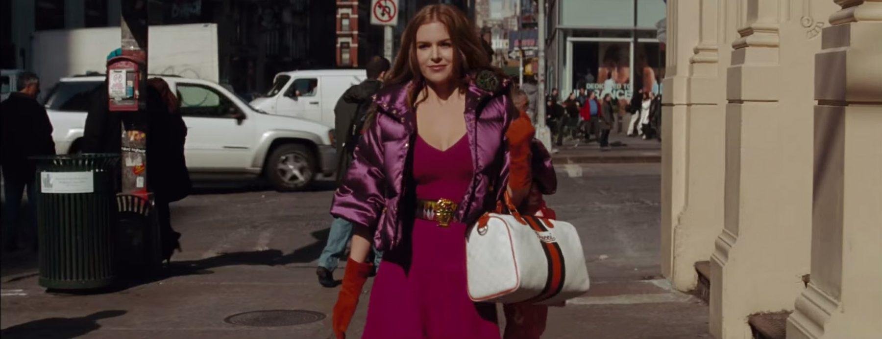 White Gucci bag from Confessions of a Shopaholic (2009)