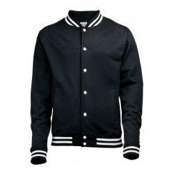 Black varsity Jacket in Master of None