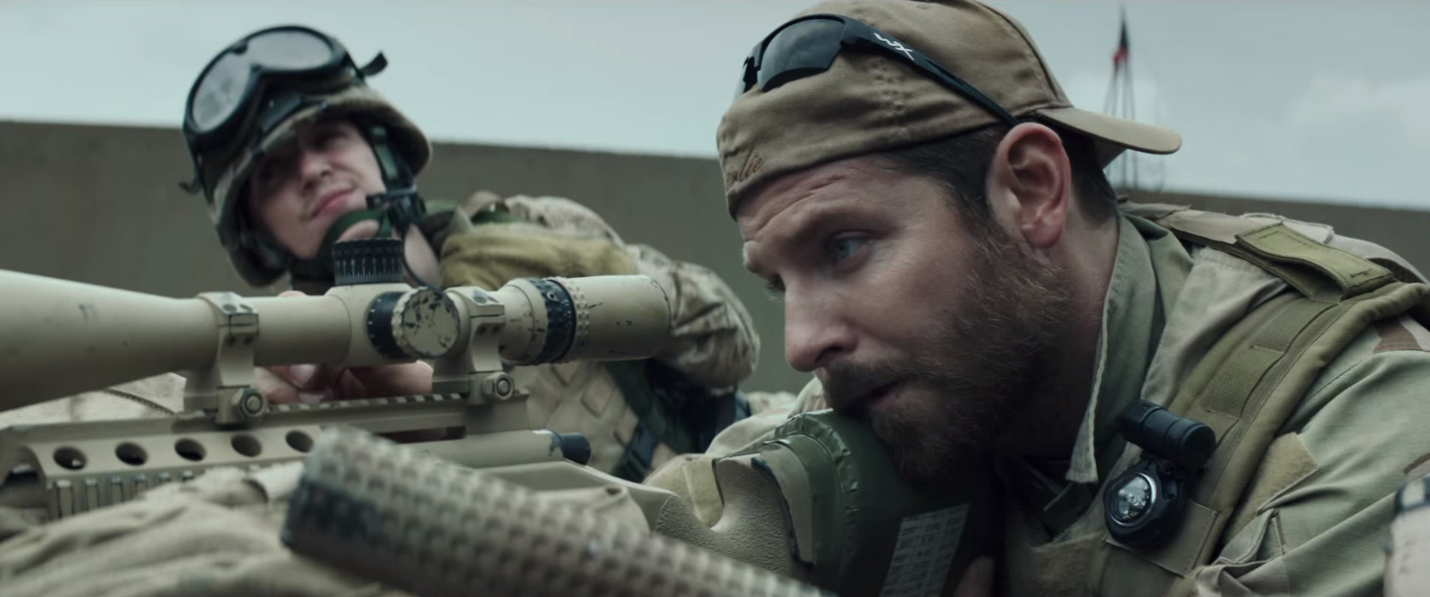 Wiley X sunglasses in American Sniper