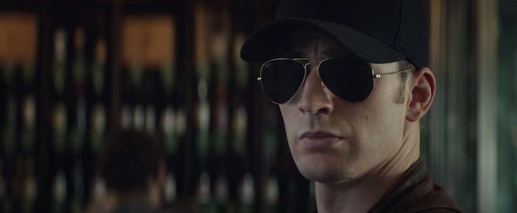 Sunglasses Chris Evans in Captain America Civil War (2016)