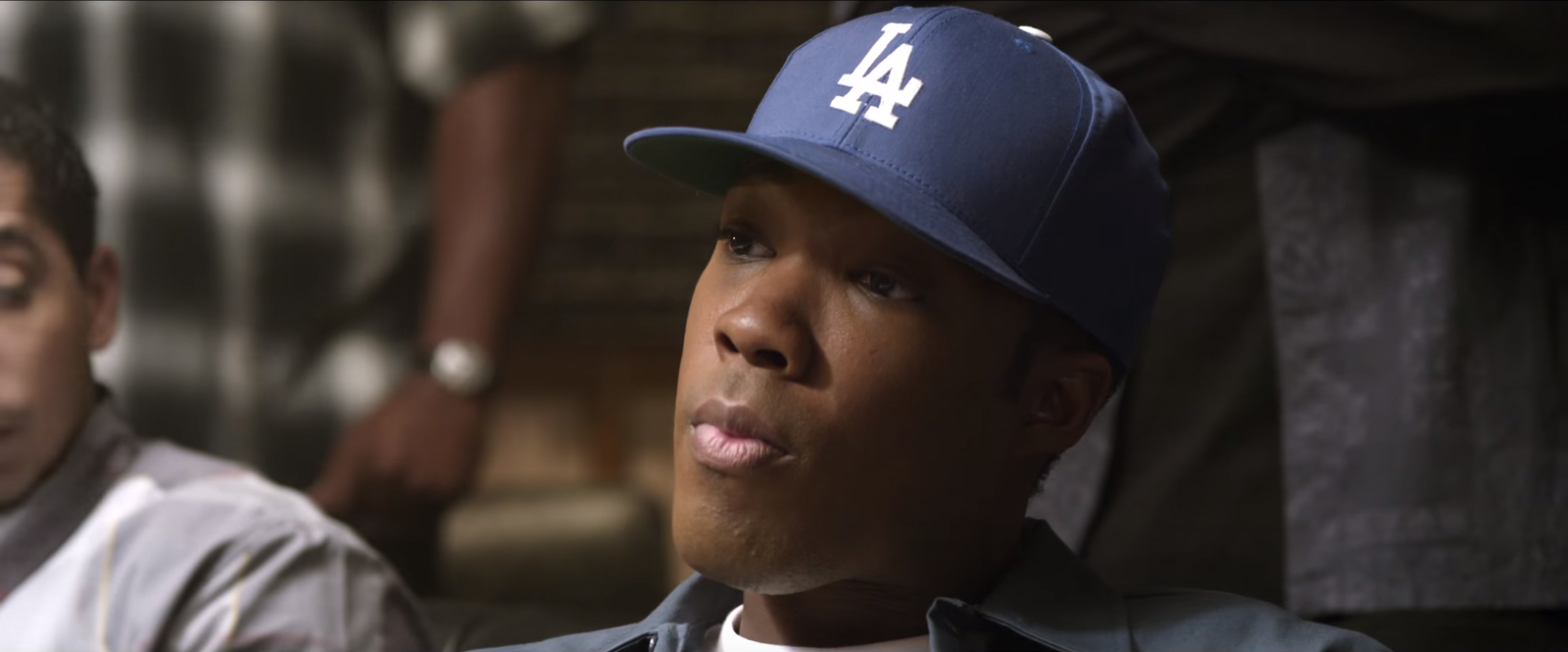 LA Dodgers hat Dr. Dre in Straight Outta Compton (2015)