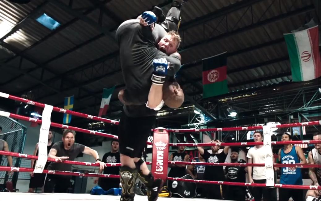 MMA-gloves-Josh-Barnett-in-Never-Back-Do