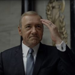 Presidential Seal Cuff-links in House of Cards