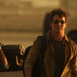Khaki Shirt Miles Teller in War Dogs (2016)