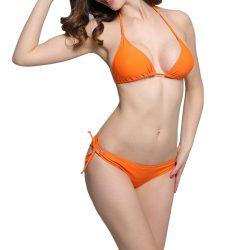 Orange bikini top Blake Lively in The Shallows (2016)