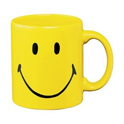 Smiley Face Mug Christopher Mintz-Plasse in Get a Job (2016)