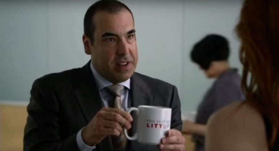 You Just Got Litt Up! Mug from Suits