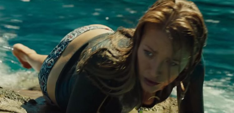 Bikini bottom Blake Lively in The Shallows (2016)
