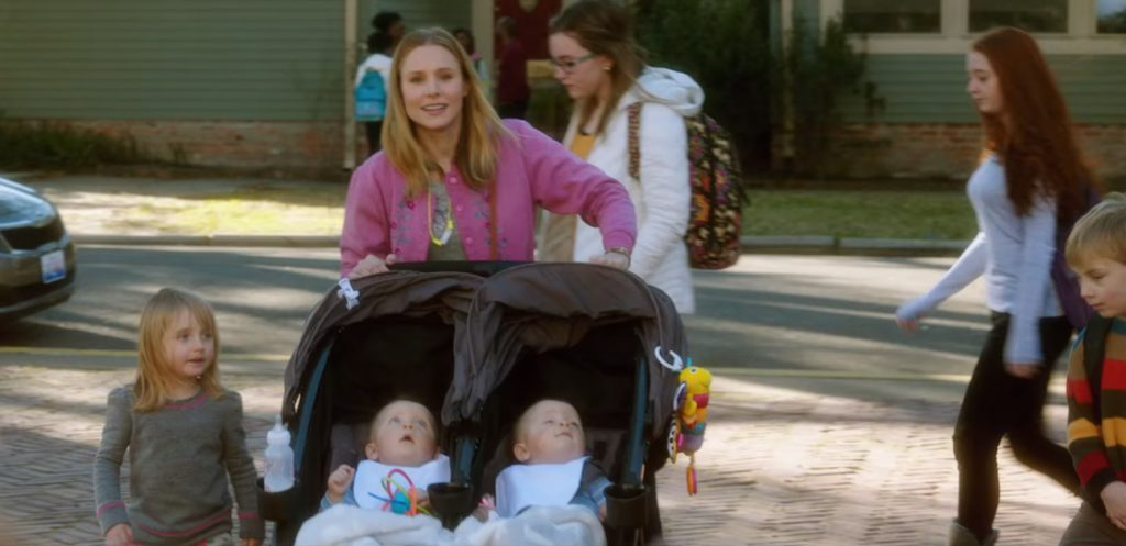 Firefly Stroller Accesory in Bad Moms (2016)