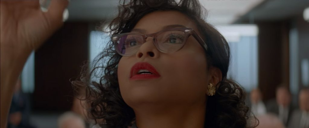 Glasses Taraji P. Henson in Hidden Figures (2017)