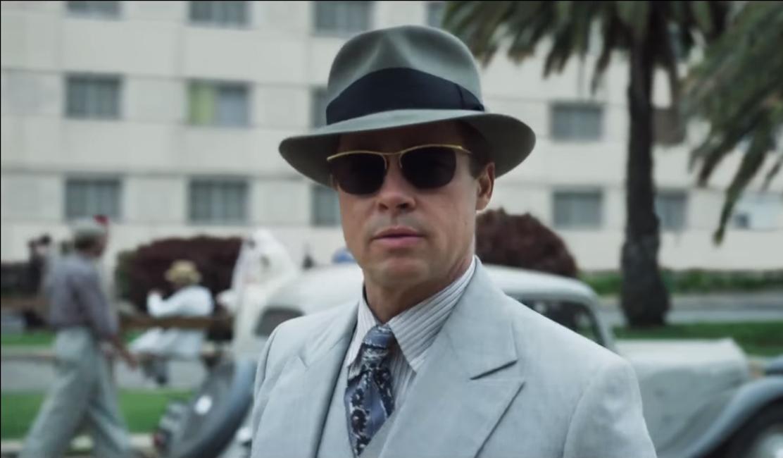 Fedora Hat Brad Pitt in Allied (2016) cdd6f5a285b