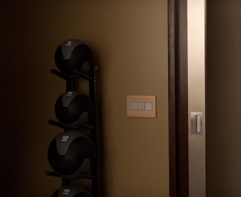 Medicine Ball Rack Jamie Dornan in Fifty Shades Darker (2017)