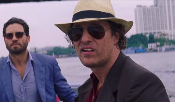 Ray-Ban Sunglasses Matthew McConaughey in Gold (2016)