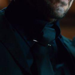 Collar Bar Pin Keanu Reeves in John Wick: Chapter 2 (2017)