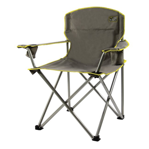 Foldable camp chairs in Almost Christmas (2016)