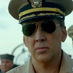 Sunglasses Nicolas Cage in USS Indianapolis: Men of Courage (2016)