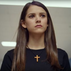Wooden Cross Necklace Masey McLain in I'm Not Ashamed (2016)