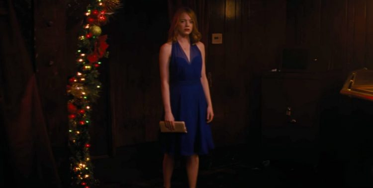Blue dress Emma Stone in La La Land (2016)