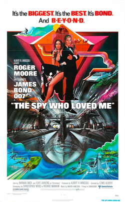 The Spy Who Loved Me products