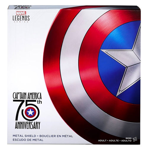 Marvel Legends Captain America 75th Anniversary Metal Shield