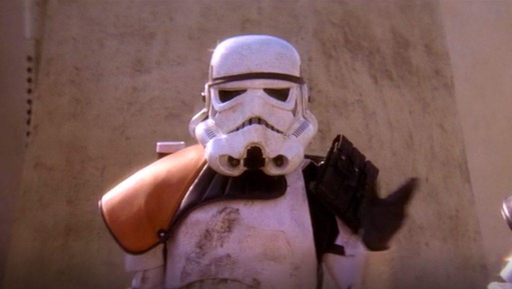 Stormtrooper helmet from Star Wars: Rogue One (2016)