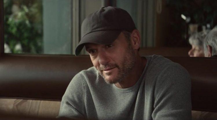 Tim McGraw's black cap in The Shack (2017)