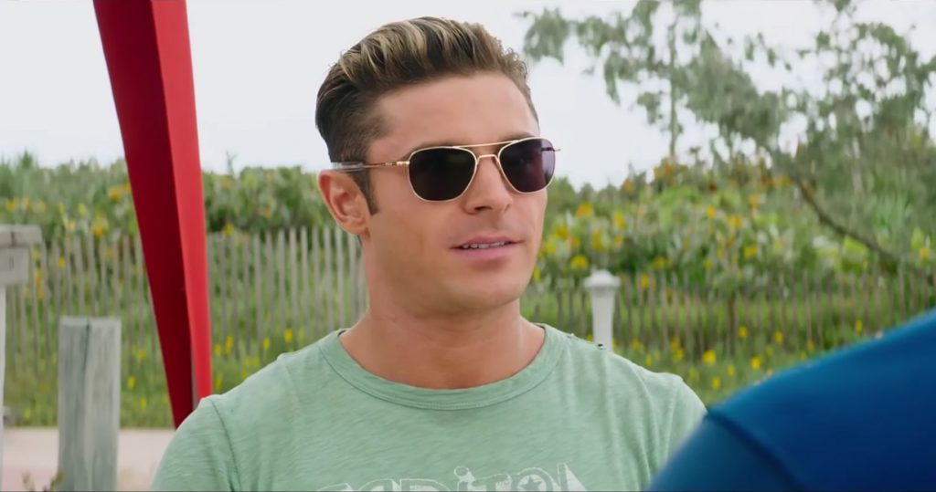 Zac Efron's sunglasses in Baywatch (2017)