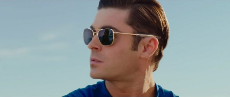Zac Efron's sunglasses in Baywatch (2017)