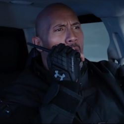 Gloves Dwayne Johnson in The Fate of the Furious (2017)