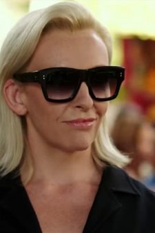 Toni Collette's square sunglasses in xXx: Return of Xander Cage (2017)