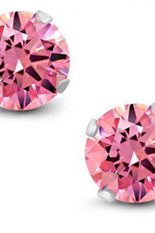Pink stud earrings Anna Kendrick in Table 19 (2017)