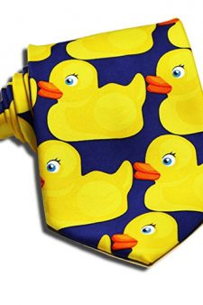 Barney Stinson's Rubbery Duck Necktie in How I Met Your Mother