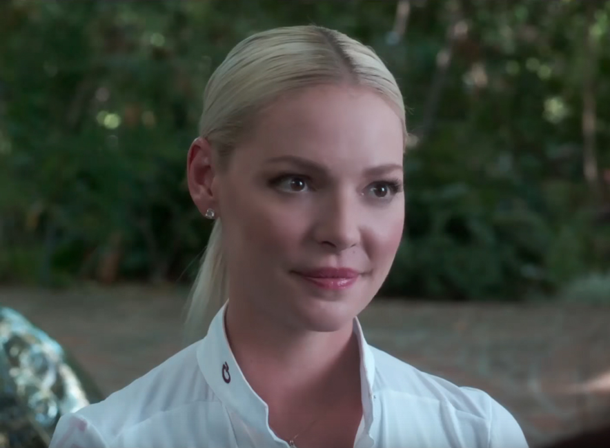 Diamond stud earrings Katherine Heigl in Unforgettable (2017)