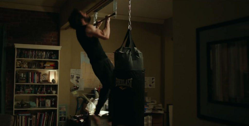 Everlast punching bag in American Assassin (2017)