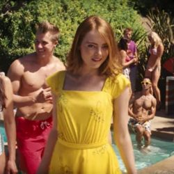 Yellow summer dress Emma Stone in La La Land (2016)