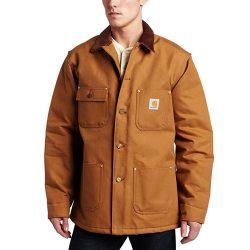 Brown Carhartt jacket Jeremy Renner in Wind River (2017) - front