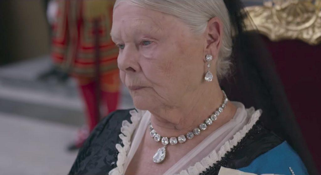 Diamond necklace Judi Dench in Victoria and Abdul (2017)