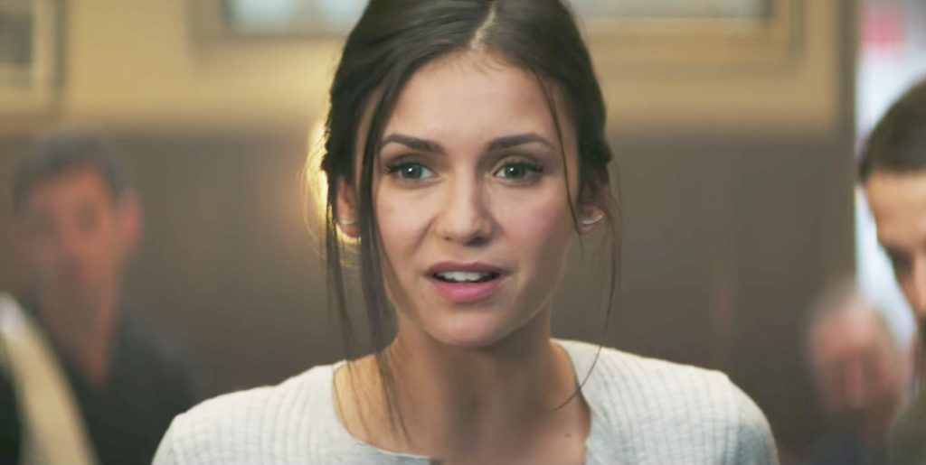 Ear Climber Crawler Earrings Nina Dobrev in Flatliners (2017)